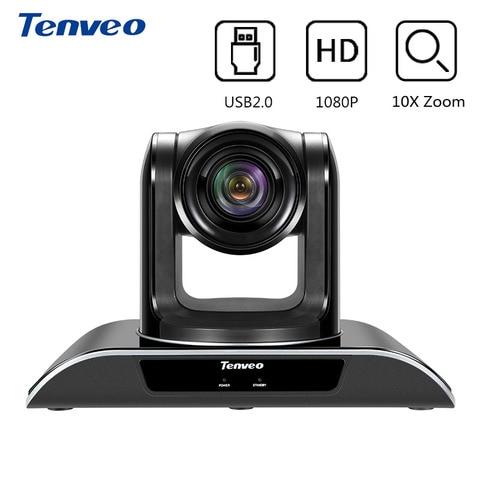 tenveo vhd102u 10x zoom 1080p camera de video conferencia ptz usb completo hd cam h