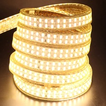 240leds/m SMD 5730 led strip 220v 110V flexible waterproof led tape 5630 1m 2m 5m 10m 20m 50m 100m + Power EU plug / US plug