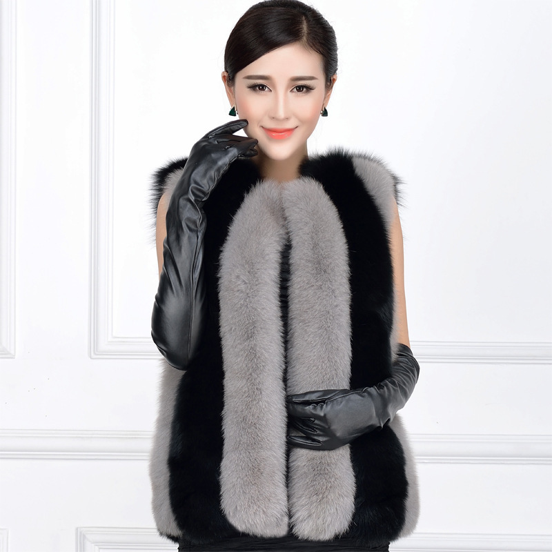 Popular Fur Grey Coat-Buy Cheap Fur Grey Coat lots from China Fur ...