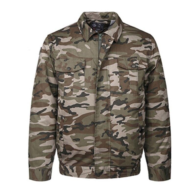 2019 veste de climatisation USB refroidissement conditionné vestes de ventilateur pour haute température travail en plein Air pêche vêtements intelligents - 4