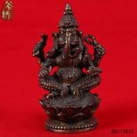 Single image elephant copper decoration