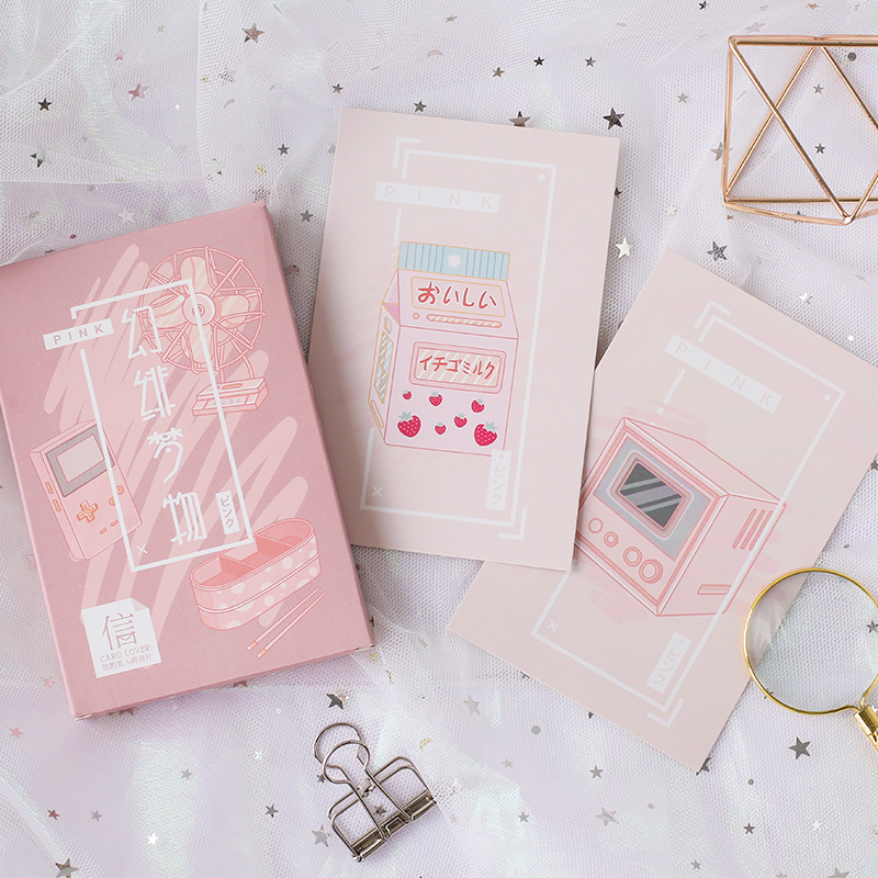 Card Lover Dream Things Postcard Bookmark Letter Paper Greeting Card 1 Lot = 1 Pack = 30 Pcs(China)
