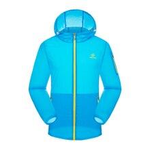 Spring&summer Sun-Protective Men's Outdoor clothing Men's sports Prevent bask Skin jacket Super light quick-drying Men's jacket