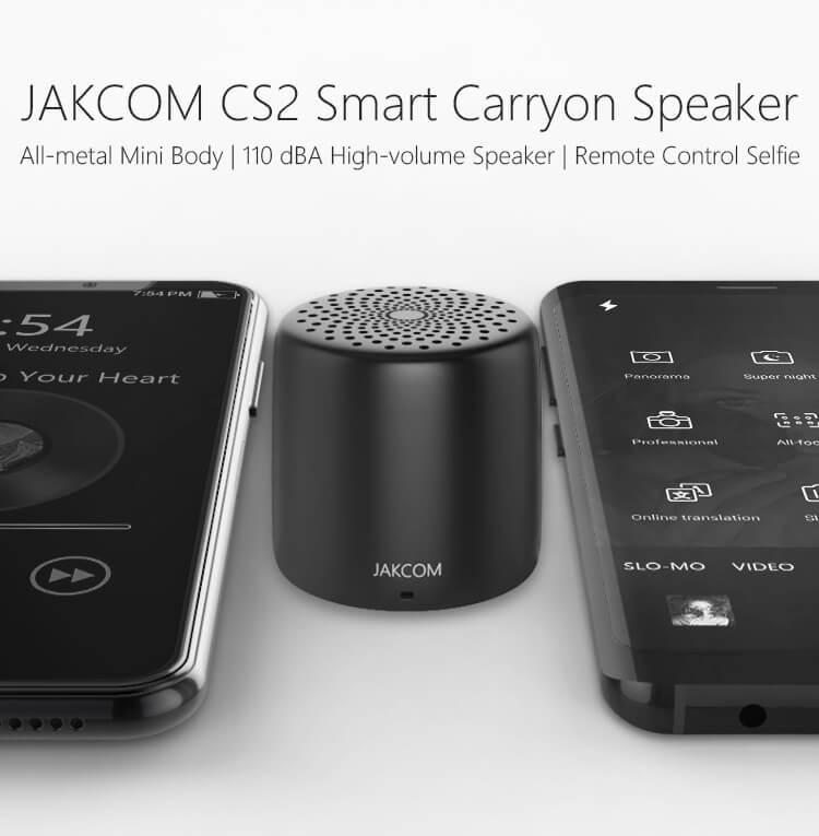 Jakcom CS2 Smallest Mini Wireless Bluetooth Speaker Portable Bluetooth Selfie Speaker One Click Remote Selfie(China)