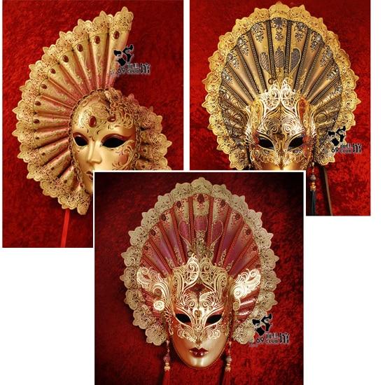 Venetian Master Handmade Mask Works Art Craft Items Furniture Decoration Stage
