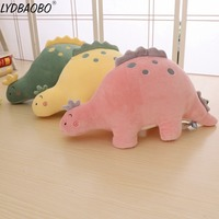 1pc 65/85cm BIg Size Cute dinosaur plush toy stuffed Kid soft Cartoon Tyrannosaurus dolls for kids children finger birthday gift