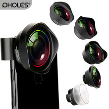 Wide Angle Fisheye Macro Portrait Phone Lens Zoom Camera Len