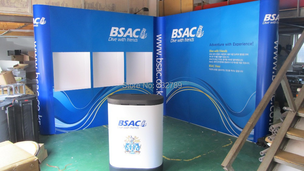 Expo Stand Backdrop : Exhibition stand display booth advertising
