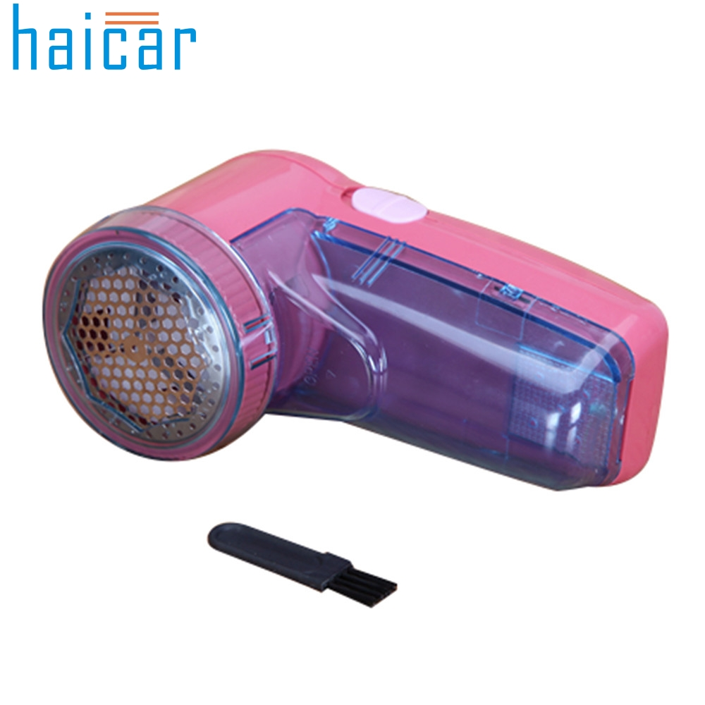 Haicar Lint Remover Portable Electric Sweater Clothes Pill Fluff Fabrics Fuzz Shaver Trimmer u61214 DROP SHIP new plug in hair ball trimmer portable electric sweater clothes lint pill fluff remover fabrics fuzz shaver