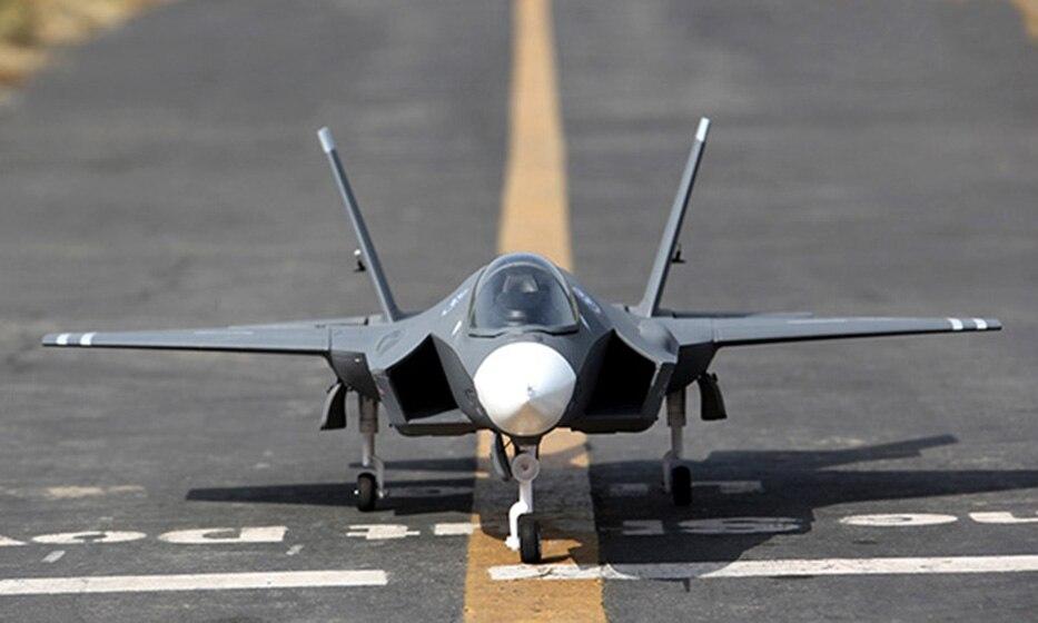Échelle SkyFlight LX EPS 70mm EDF F35 Éclairage II ARF/PNP RC Jet Avion Modèle W/Moteur Servos ESC W/O Batterie