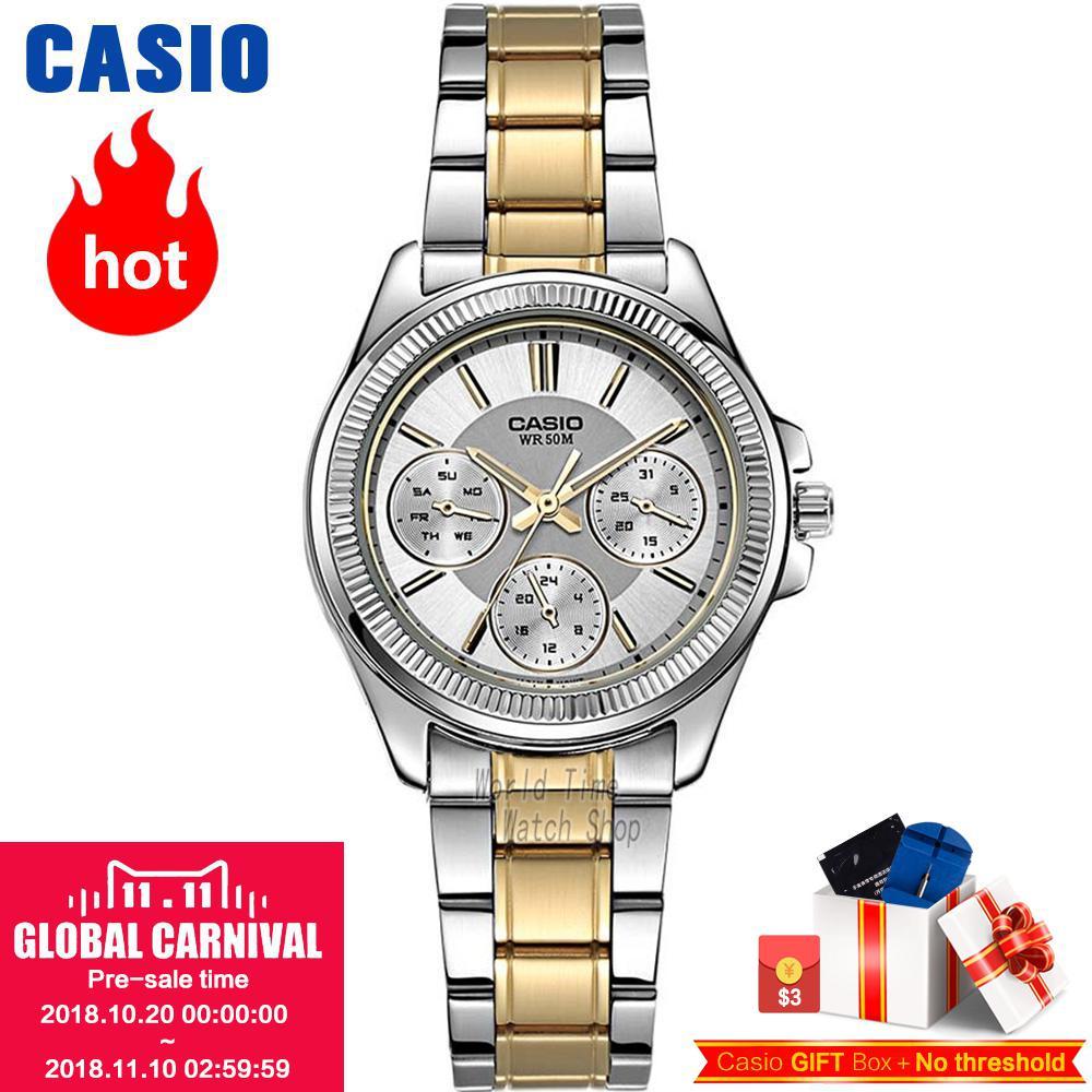 Casio watch Fashion casual quartz watch LTP-2088RG-7A LTP-2088D-7A LTP-2088D-1A LTP-2088SG-7A casio ltp 1308sg 7a