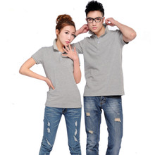 Hot selling all Size Pure Color Casual polo shirt Women Solid polo shirt brands polo shirts cotton Short sleeve