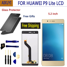 For Huawei P9 Lite VNS-L21 VNS-L22 VNS-L23 VNS-L31 VNS-L53 LCD Display + Touch screen Digitizer Assembly Replacement With Frame huawei p9 lite black vns l21