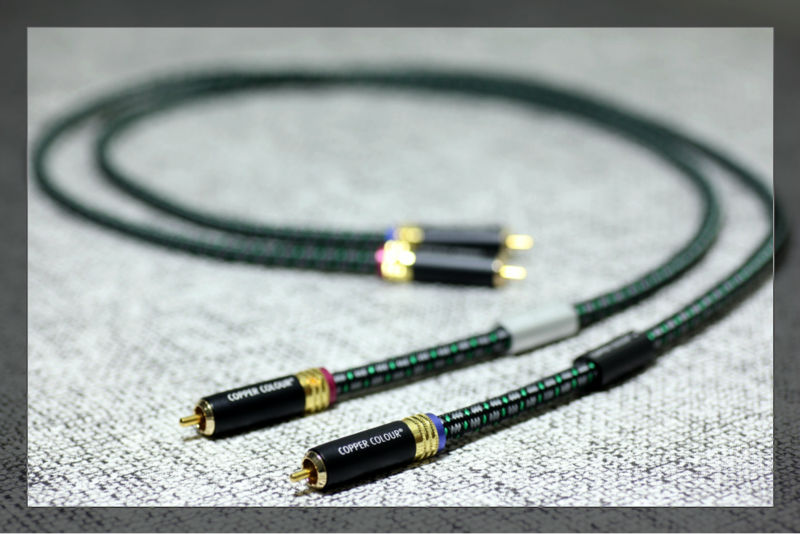 Free shipping pair Copper Colour Fond audio Signal Cable RCA Cable with Gold plated RCA PLUG free shipping 4 colour gold plated rca socket rca connector 8pcs lot
