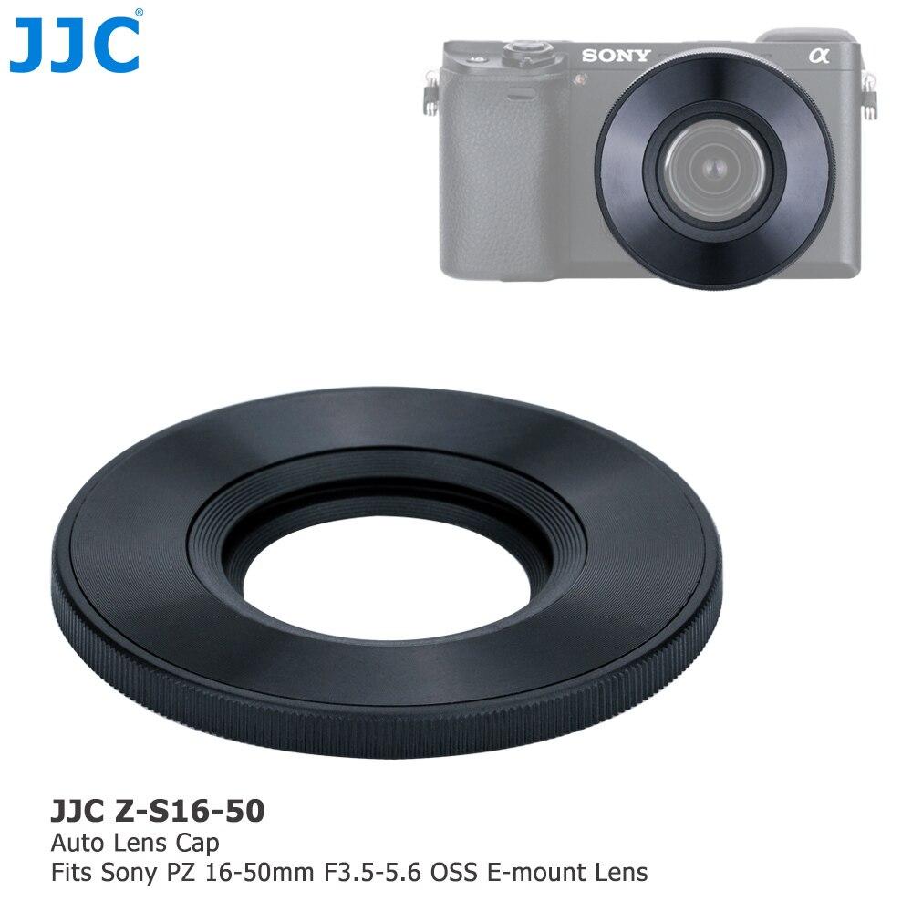 JJC Z-S16-50 Auto Objektivdeckel für SONY PZ 16-50mm F3.5-5.6 OSS E-mount Objektiv