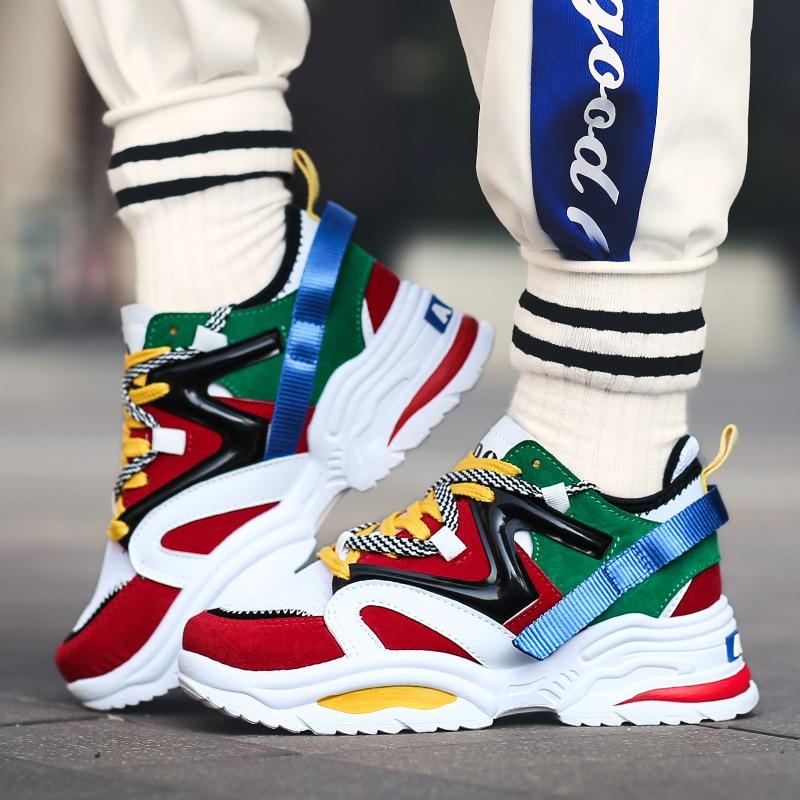 Fashion Sneakers Women Platform Shoes
