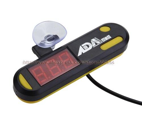 Погружные светодиодный цифровой Дисплей термометр для рыб аквариум Температура метр и 20 шт./лот DHL/<font><b>UPS</b></font>/FedEx/ EMS Бесплатная доставка