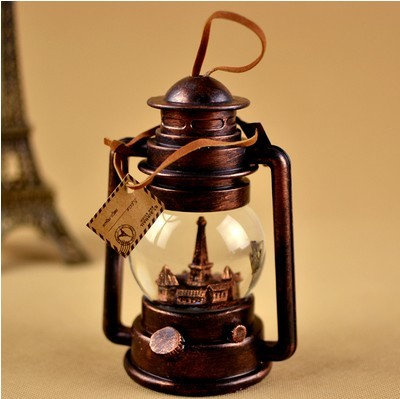 Eiffel Tower Valentine Birthday Gift Ideas Crystal Ball Lamp Lantern Vintage Ornaments To Send Male And