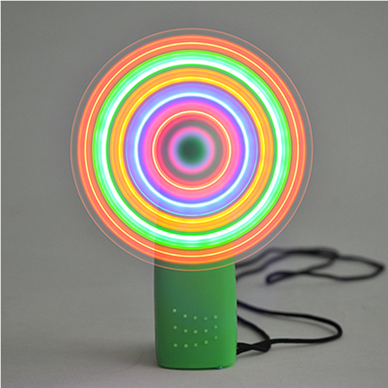 2pcs Flashing fan,Led Christmas/New Year Party Supplies Luminous toys,Birthday Wedding Glow Party Supplie Glowing Decorations
