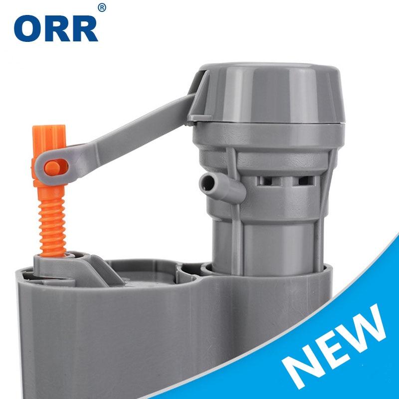 Впускные клапаны для наполнения резервуара туалетной воды тихая