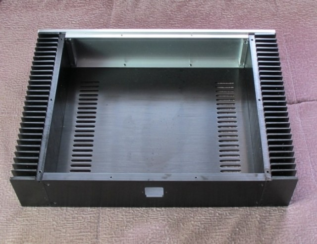 Power Verstärker Chassis/Aluminium Fall DAC Amp Shell /DIY amp gehäuse