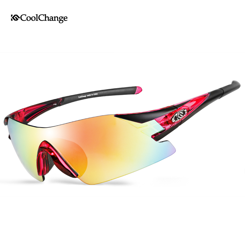 Coolchange men bicycle glasses goggle cycling outdoor sports  polarized bicycle glasses Eyewear 6 color TR90 polarsnow top quality polarized sunglasses men polaroid outdoor fishing sports sun glasses oculos de sol masculino goggle shades