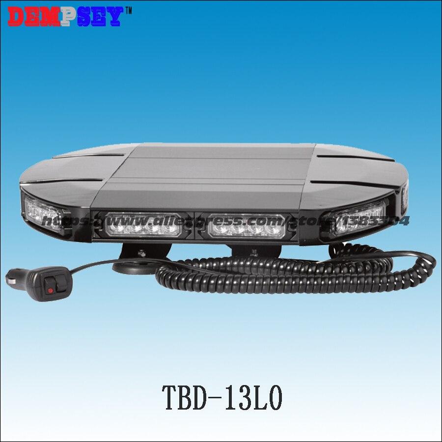 Tbd-13l0 Горячие продаж 40 светодиодный супер качество 1 Вт вспышки света шаблоны strobe предупреждение автомобиль мини полиции <font><b>lightbar</b></font>, магнитное кре&#8230;