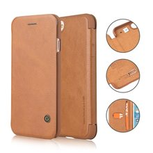 G-CASE for iPhone 8/7/plus Ultra Slim case Folio Flip Wallet Protective Cover with Slot for Card/Cash/SIM Card Ejector Pin(China)