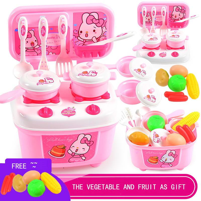 plstico abs mini de dibujos animados set de cocina de juguete juego de imaginacin preescolar juguetes
