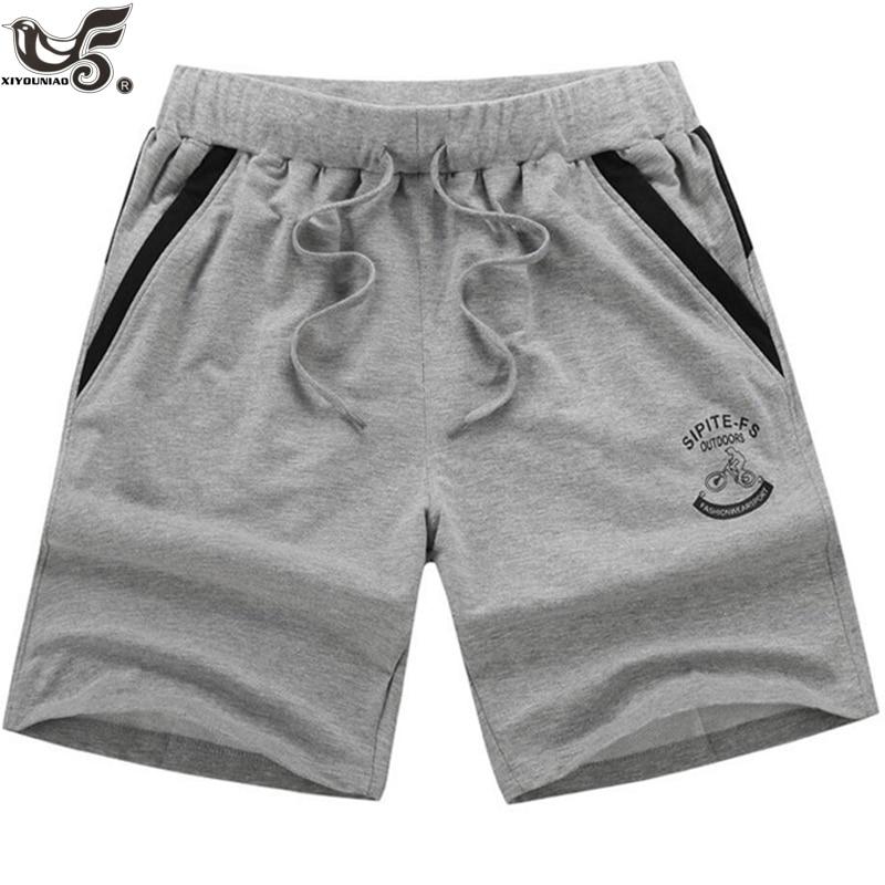 XIYOUNIAO Plus Size 7XL,8XL,9XL Men's Shorts Summer Elastic Waist Beach Shorts Cotton Casual Male Bermuda Masculina Shorts Homme