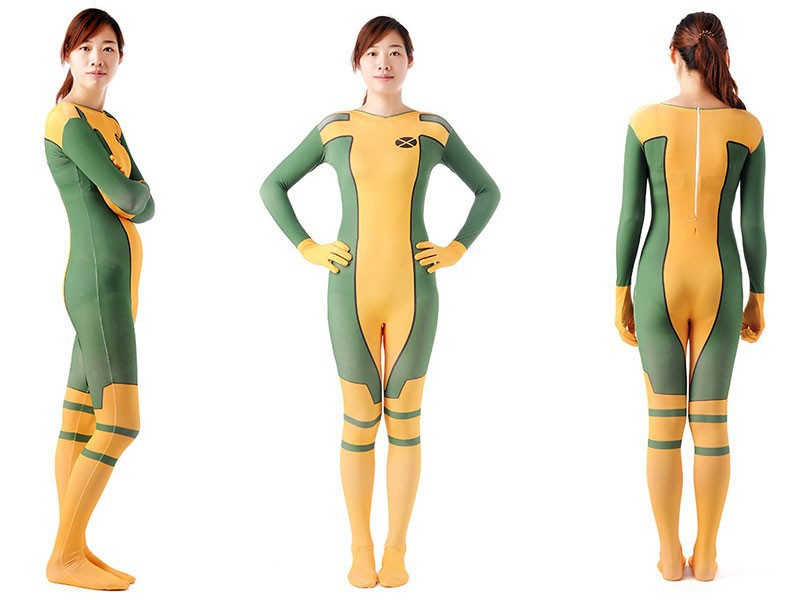(PHC048) Unisex Full Body Lycra Spandex Fetish Zentai Suits The Riddle Question Mark Superhero Halloween Cosplay Costume
