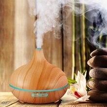 300 мл Увлажнитель Воздуха Эфирное Масло Диффузор Аромалампу Ароматерапия Электрический Арома Диффузор Mist Чайник для Дома-Дерево