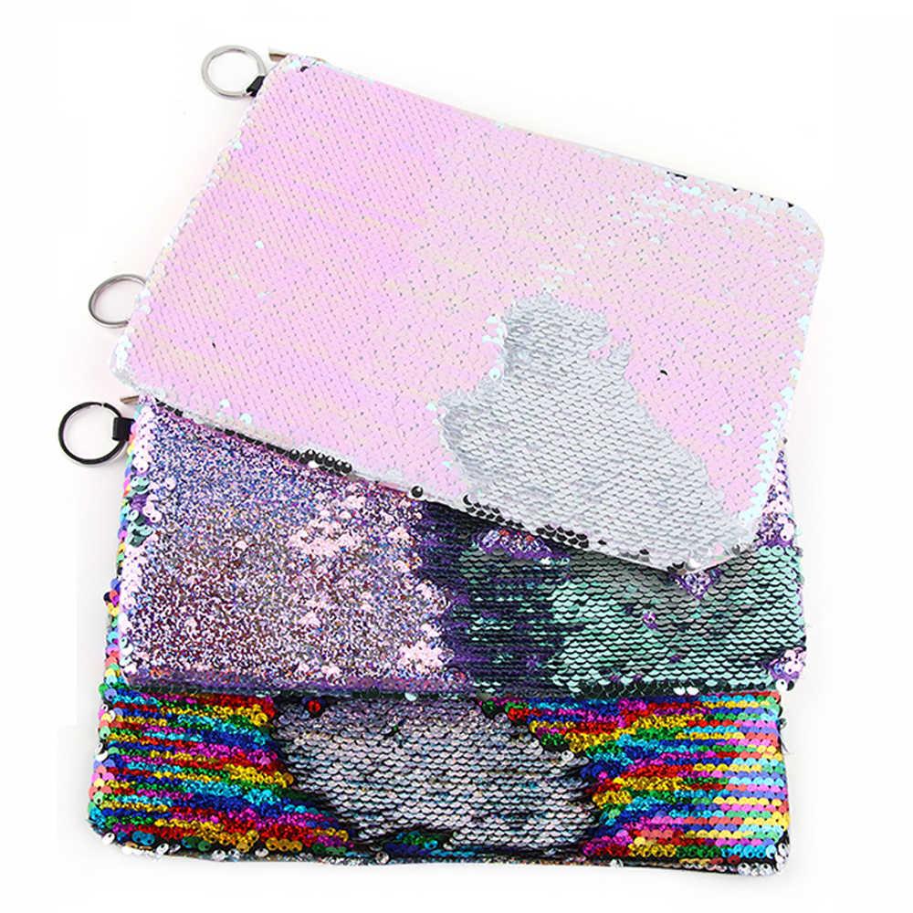 New Fashion Women Glitter Coin Purse Party Clutch Handbags Sequins Small  Envelop Bags Travel Organizer Banquet a71cdd37ebc9