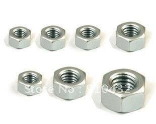 Livraison gratuite 3000 pcs M3 / M4 / M2 pour le choix ( même prix ) hex nut hexagone placage Nickel ( en acier inoxydable peut également offrir )