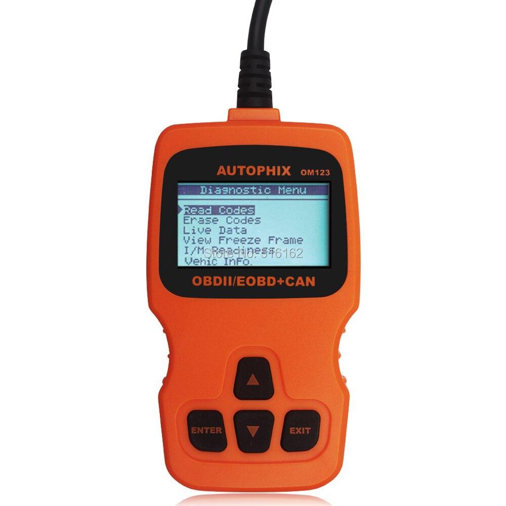 OBD2 Code Reader Automotive Scanner OM123_09