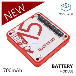 M5Stack Oficial Em Estoque! Módulo para Arduino Kit de Desenvolvimento do Núcleo ESP32 bateria Capacidade 700 mAh Placa de Desenvolvimento IoT Empilhável
