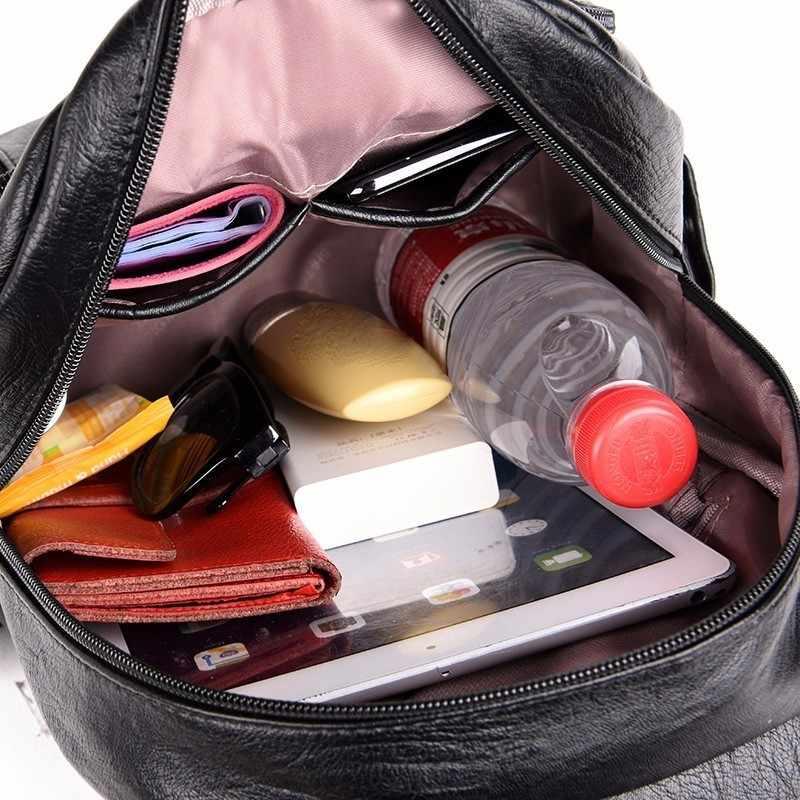 2019 женские кожаные рюкзаки, женская сумка на плечо, женский рюкзак, винтажные школьные рюкзаки для девочек, рюкзак для путешествий, новинка