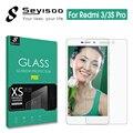 100% Оригинал Seyisoo 2.5D Высокое Быстродействие Протектор Экрана Закаленное Стекло Для Xiaomi Redmi 3 Pro 3 S 3X Xiomi Redmi3 S X Фильм
