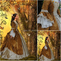 R 009 Victorian Gothic/Civil War Southern Belle loose Ball Gown Dress Halloween Vintage dresses Custom made