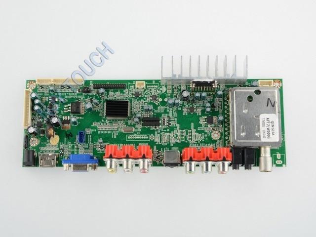 NJYTSU26 V2.0 F LVDS VGA HDMI YPBPR AV S-VIDEO  TV universal LCD controller board PAL for 15.6 inch 1366x768 1ch 8bit WXGA