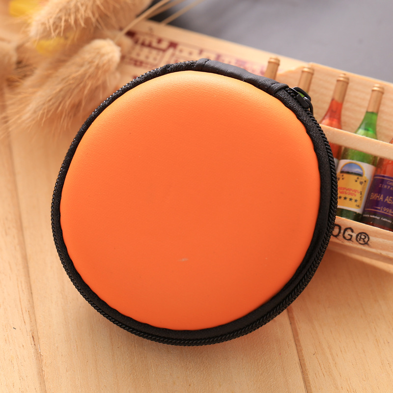 Wholesale Silicone Coin Purse Candy Color Orange Coin Key Wallets Big Capacity Zipper Box Pouch Bags monedero mujer para monedas orange box with cs1 6