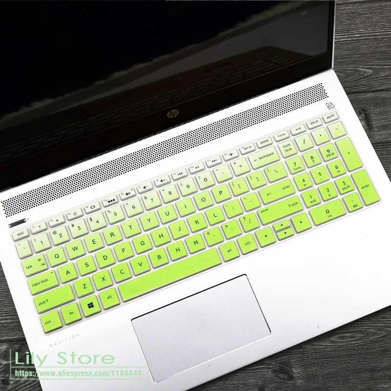 5 15,6 дюймов ноутбук клавиатура крышка протектор кожи для hp Pavilion 15 15-da0015la 15-da0300tu 15-da1029tu da1047tx серии
