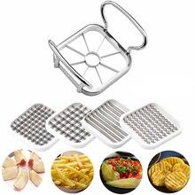 5-в-1 быстрое пуш-ап Еда измельчитель овощей и фруктов инструмент для нарезки яблок груша машина для нарезки картофеля Кухня растительная машина