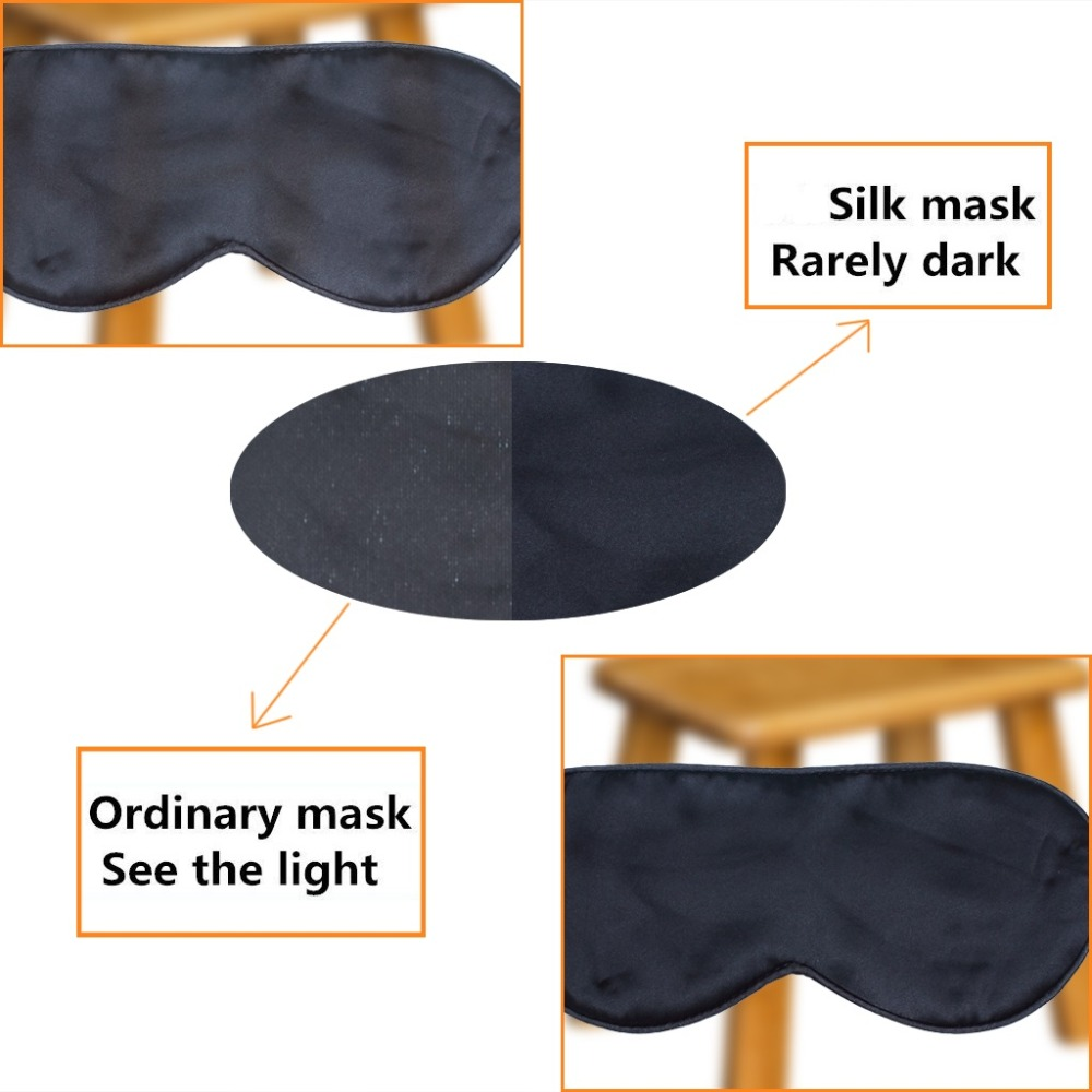 Запълнена чиста коприна EyeShade Спящата - Здравеопазване - Снимка 3