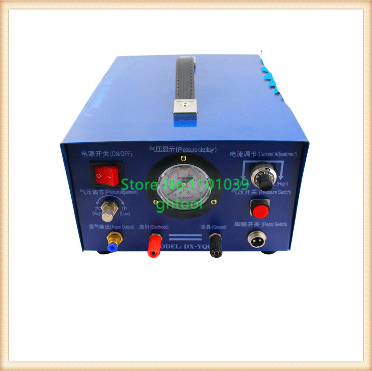 Free Shipping Jewelry Making Tools 80A 800W Argon Welding Machine Spot ghtool