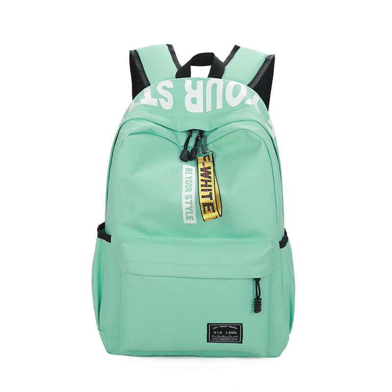 08d3ac702e ... Brand High Quality Canvas Backpack Strong Large capacity Travel bag Men  Preppy School bag for Girls