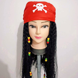 Unisex Jack Sparrow Cosplay Pe