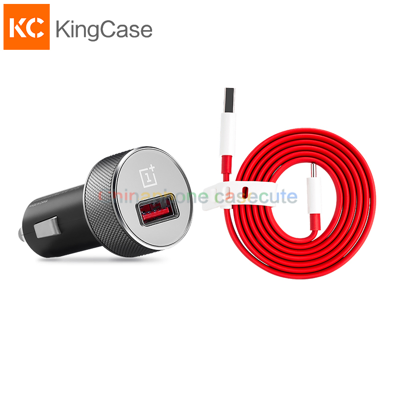 Oneplus 3 Car Charger Dash USB Type C Cable 100 Original Official Fast Quick Charger Adapter