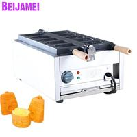 BEIJAMEI Commercial Non stick Bell Shaped Waffle Maker Iron Machine Electric Bell shaped Mini Taiyaki maker Machine