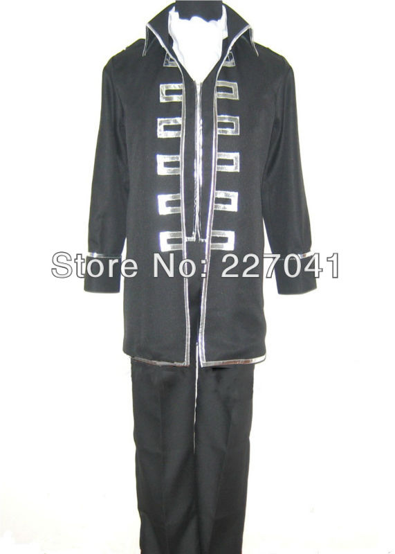 Gintama  Shinsengumi Team Okita Sougo Cosplay Costume  Halloween cloth
